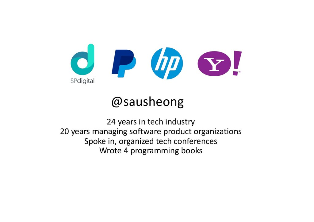 24 years in tech industry 20 years managing sof...