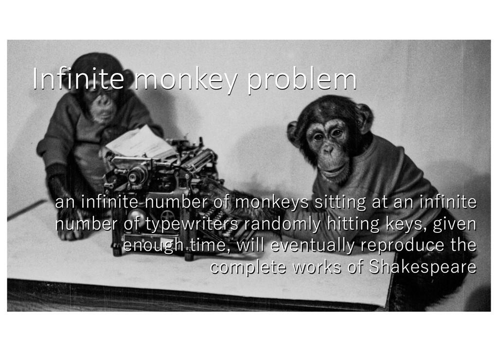 Infinite monkey problem , , , , , , , , , , , ,...