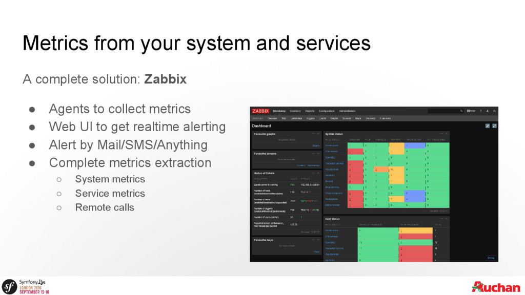 Metrics from your system and services A complet...