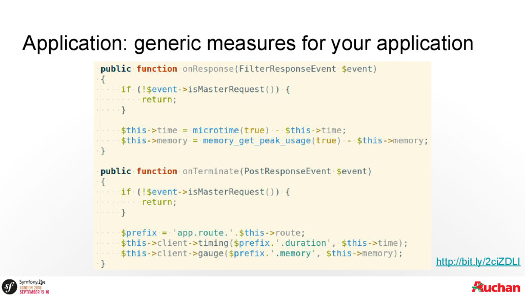 Application: generic measures for your applicat...