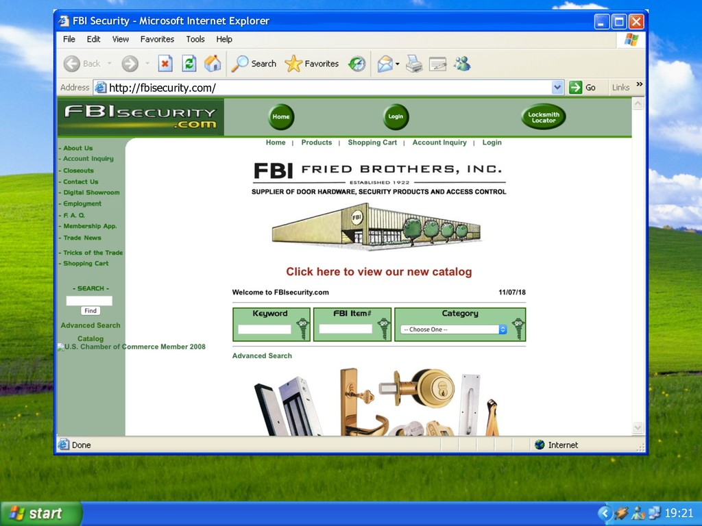19:21 FBI Security – Microsoft Internet Explore...