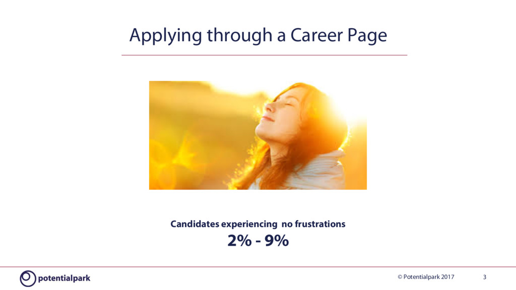 © Potentialpark 2017 3 Applying through a Caree...