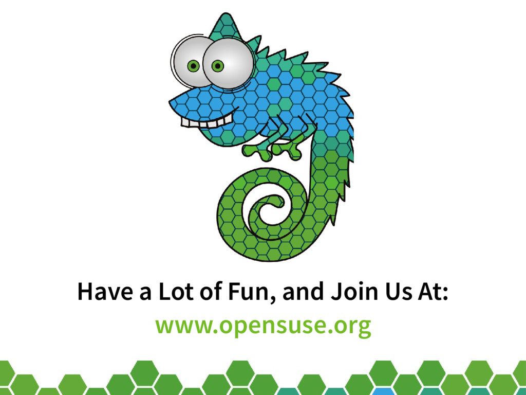 60 Have a Lot of Fun, and Join Us At: www.opens...