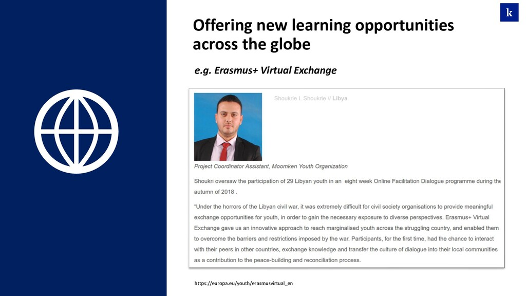 Offering new learning opportunities across the ...