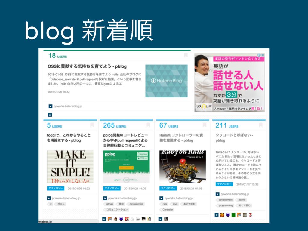 blog ৽ணॱ