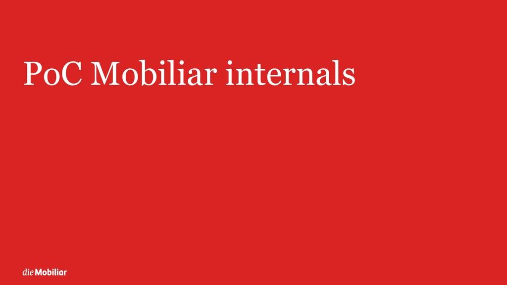 PoC Mobiliar internals 16
