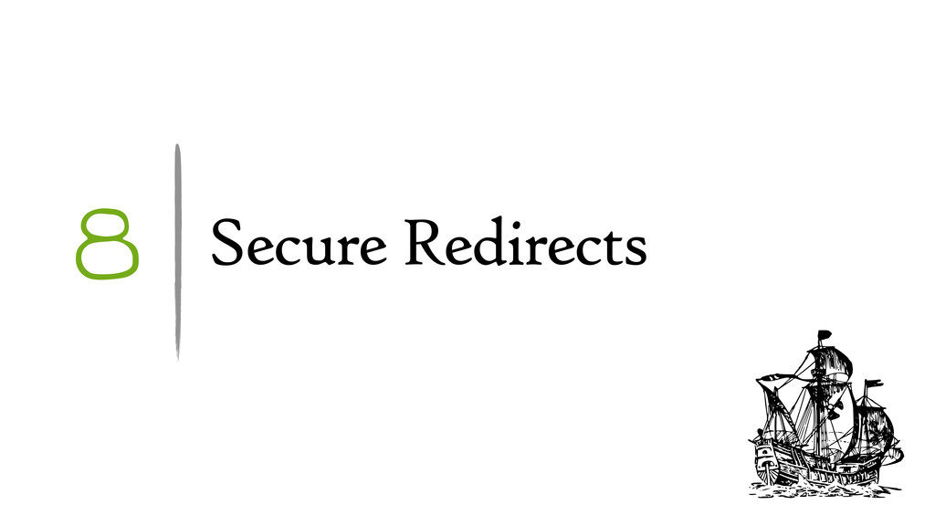 8 Secure Redirects
