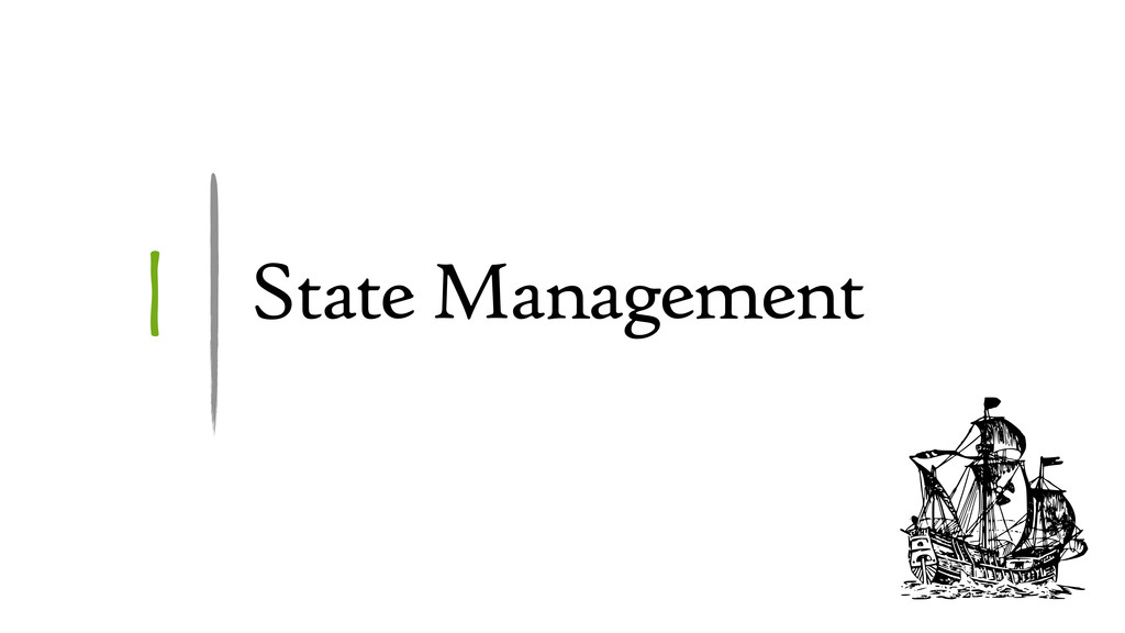 1 State Management