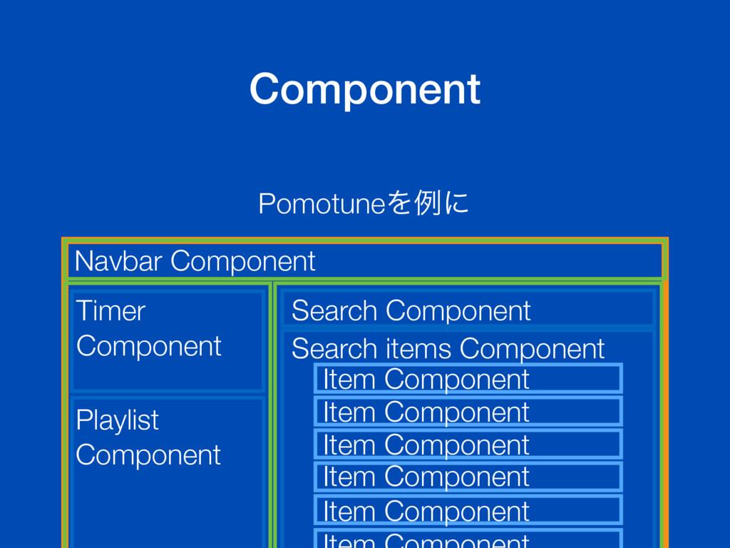 Component PomotuneΛྫʹ Navbar Component Playlist...