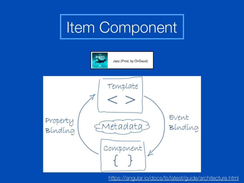 Item Component https://angular.io/docs/ts/lates...
