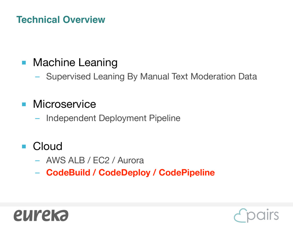 Technical Overview ■ Machine Leaning  – Supervi...