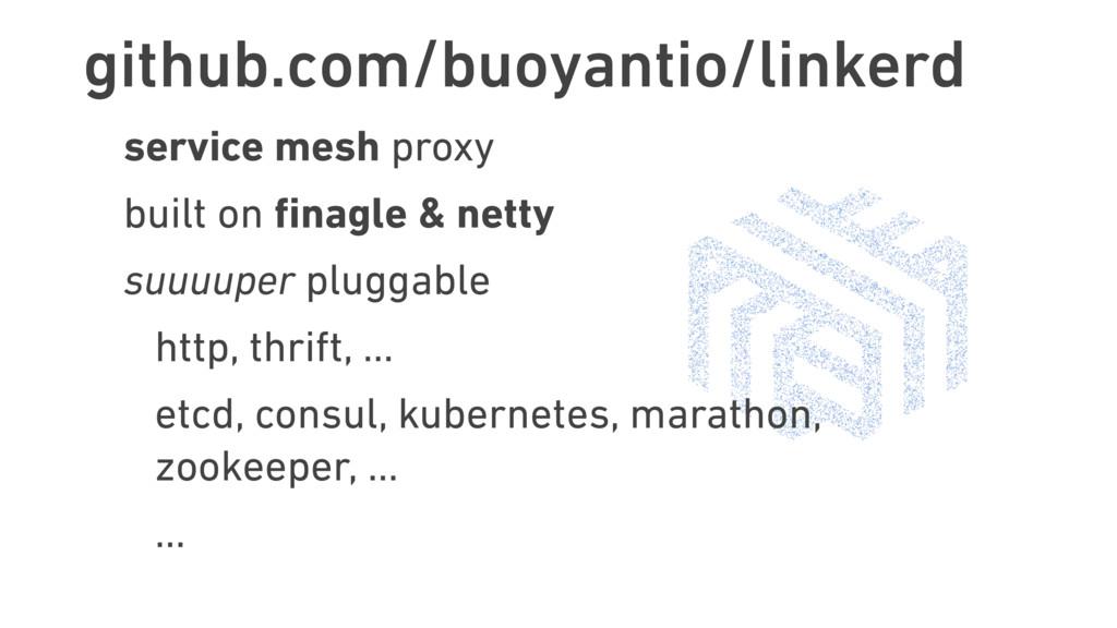 github.com/buoyantio/linkerd service mesh proxy...