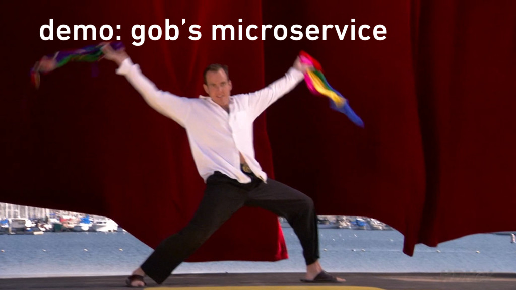 demo: gob's microservice