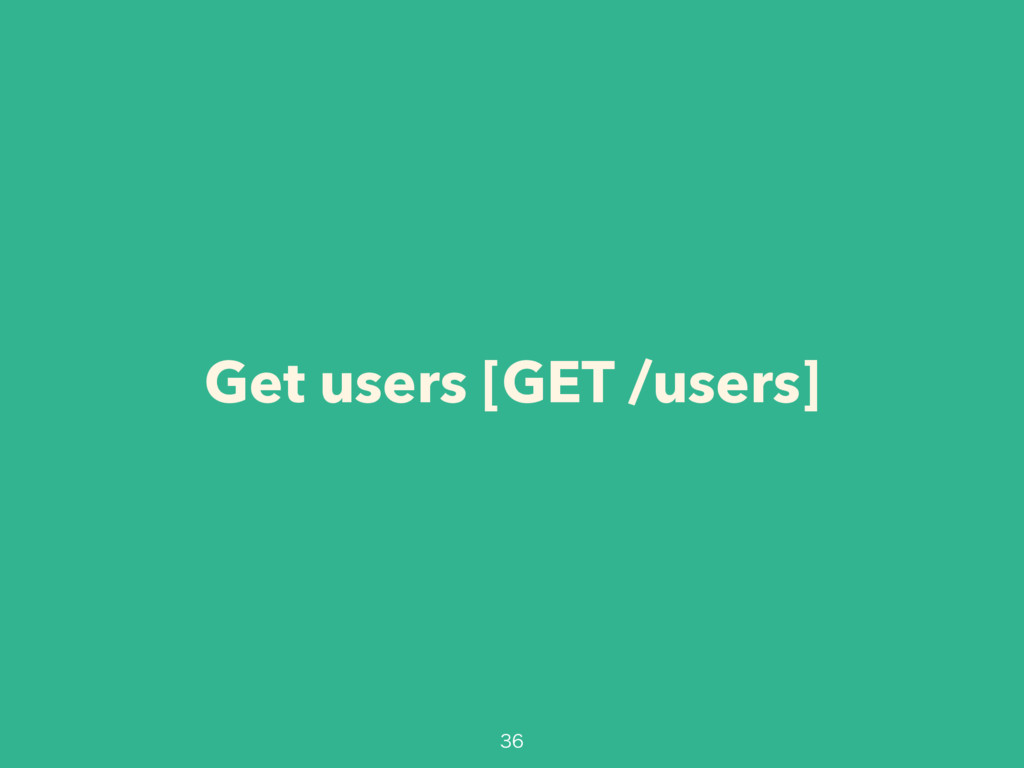 Get users [GET /users]
