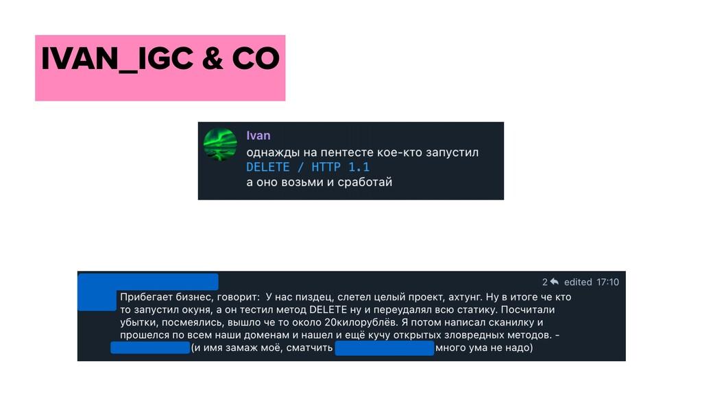 IVAN_IGC & CO