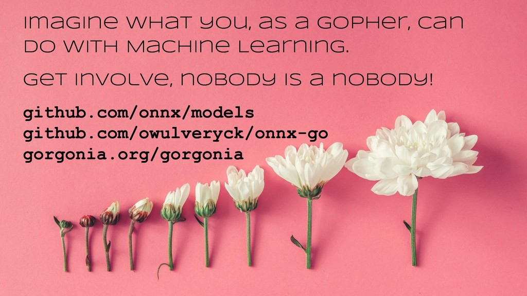Imagine what you, as a Gopher, can do with Mach...