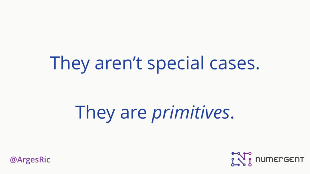 @ArgesRic They aren't special cases. They are p...