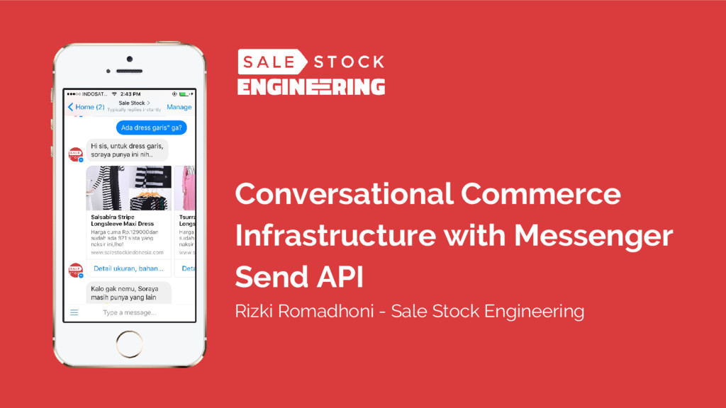 Conversational Commerce Infrastructure with Mes...