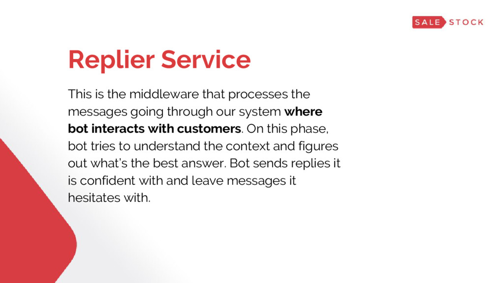 Replier Service This is the middleware that pro...