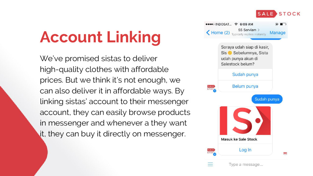 Account Linking We've promised sistas to delive...