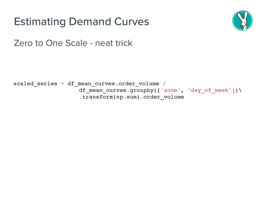 Zero to One Scale - neat trick Estimating Deman...