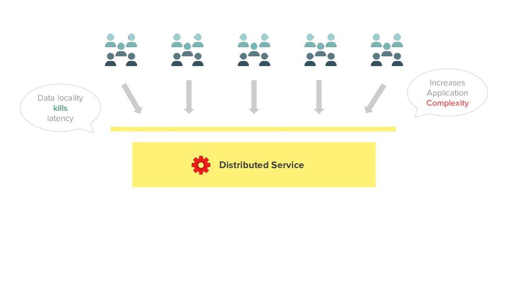 Distributed Service Data locality kills latency...