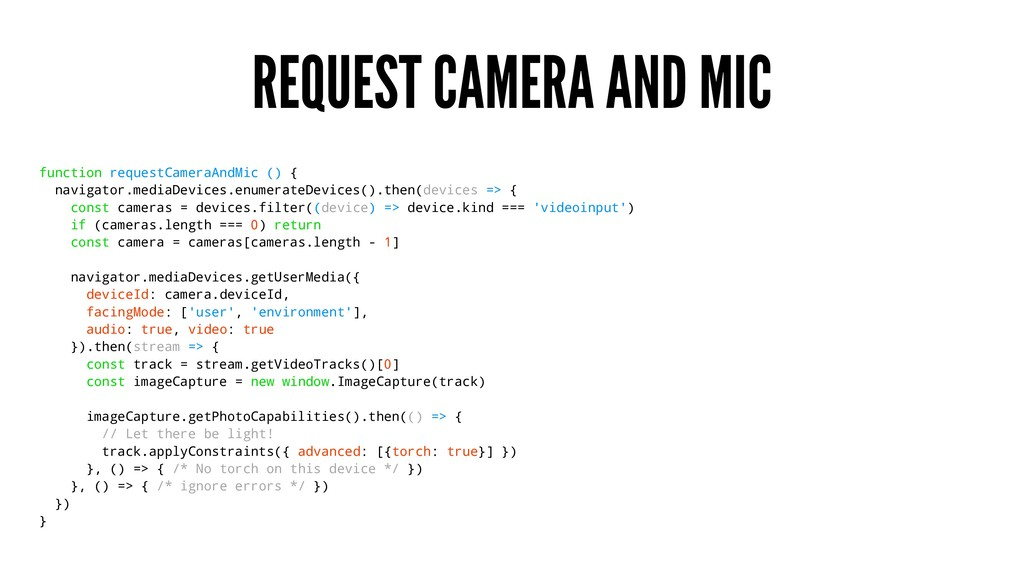 REQUEST CAMERA AND MIC function requestCameraAn...