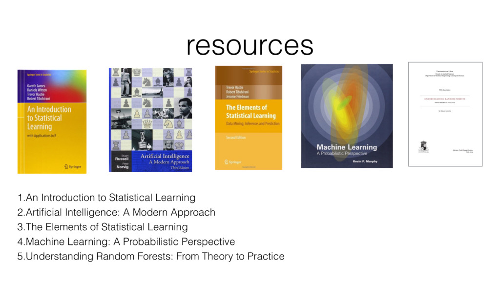 resources 1.An Introduction to Statistical Lear...