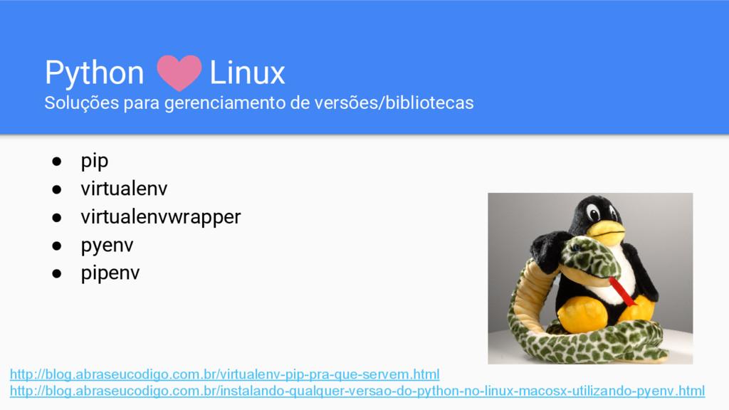 Python Linux Soluções para gerenciamento de ver...