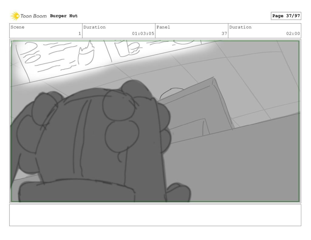 Scene 1 Duration 01:03:05 Panel 37 Duration 02:...