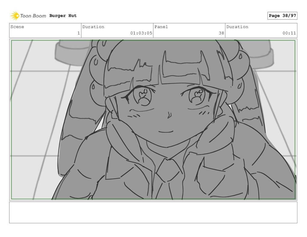 Scene 1 Duration 01:03:05 Panel 38 Duration 00:...
