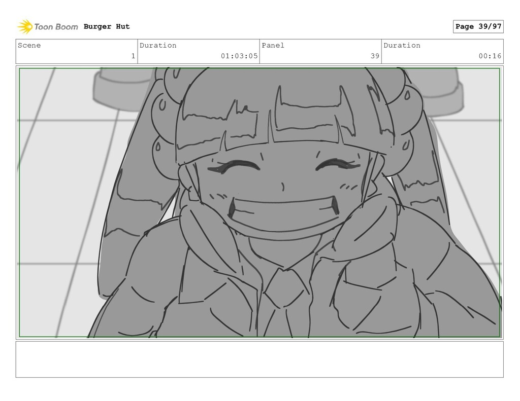Scene 1 Duration 01:03:05 Panel 39 Duration 00:...