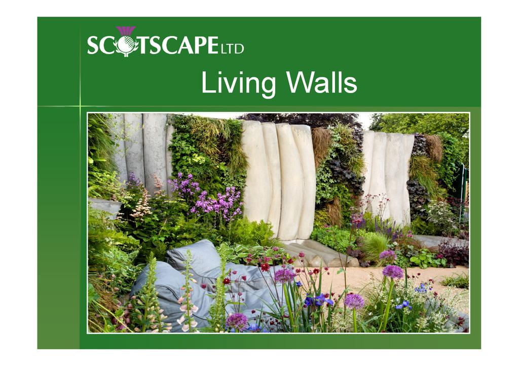 Living Walls Living Walls