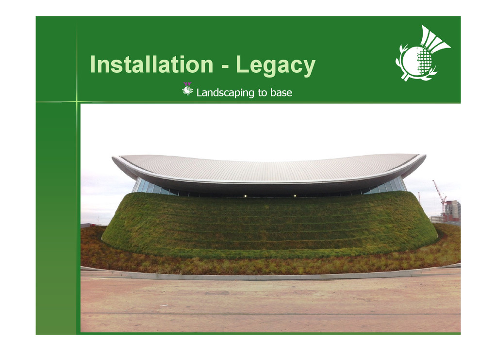 Installation - Legacy Landscaping to base