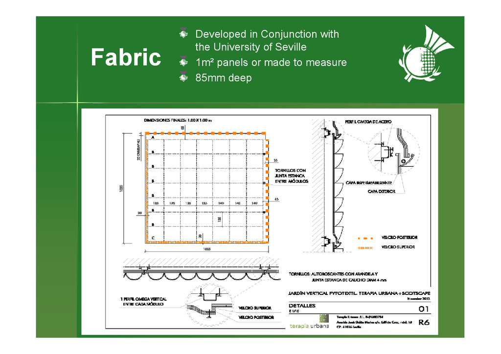 Fabric Developed in Conjunction with the Univer...