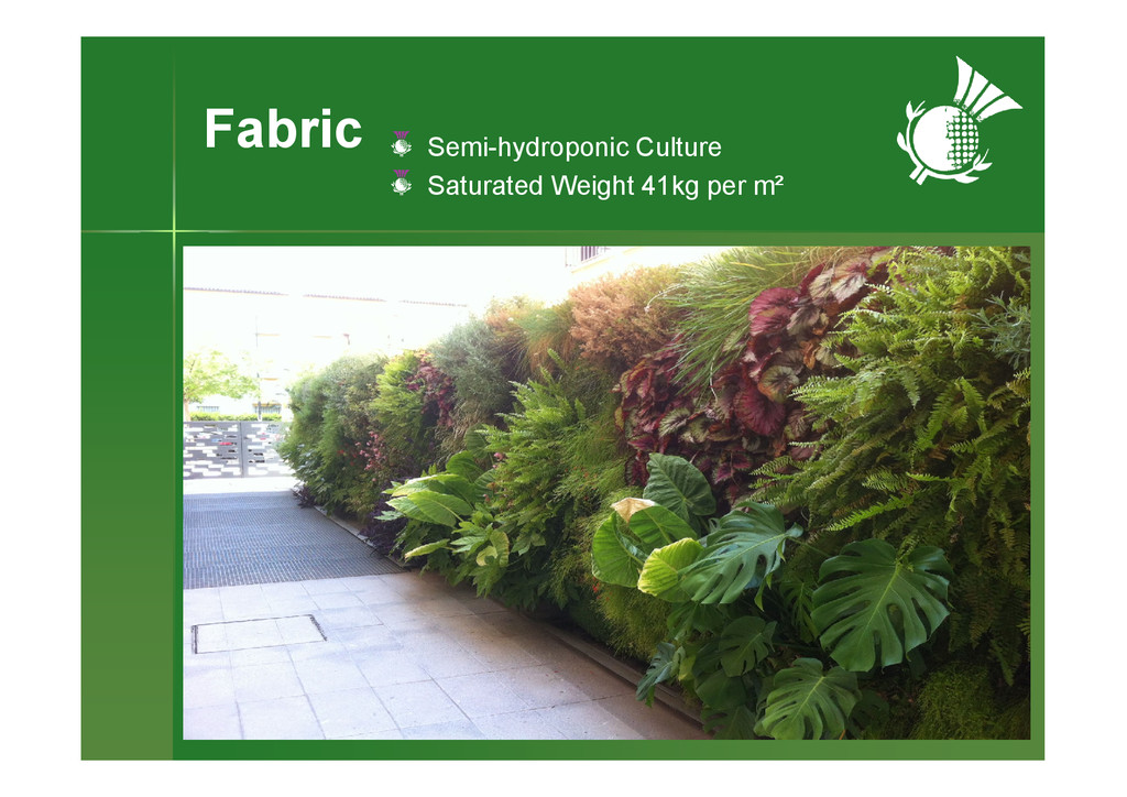 Fabric Semi-hydroponic Culture Saturated Weight...