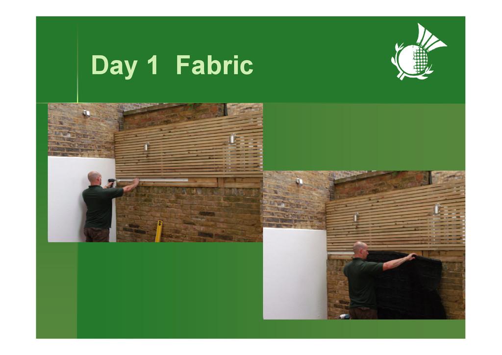 Day 1 Fabric