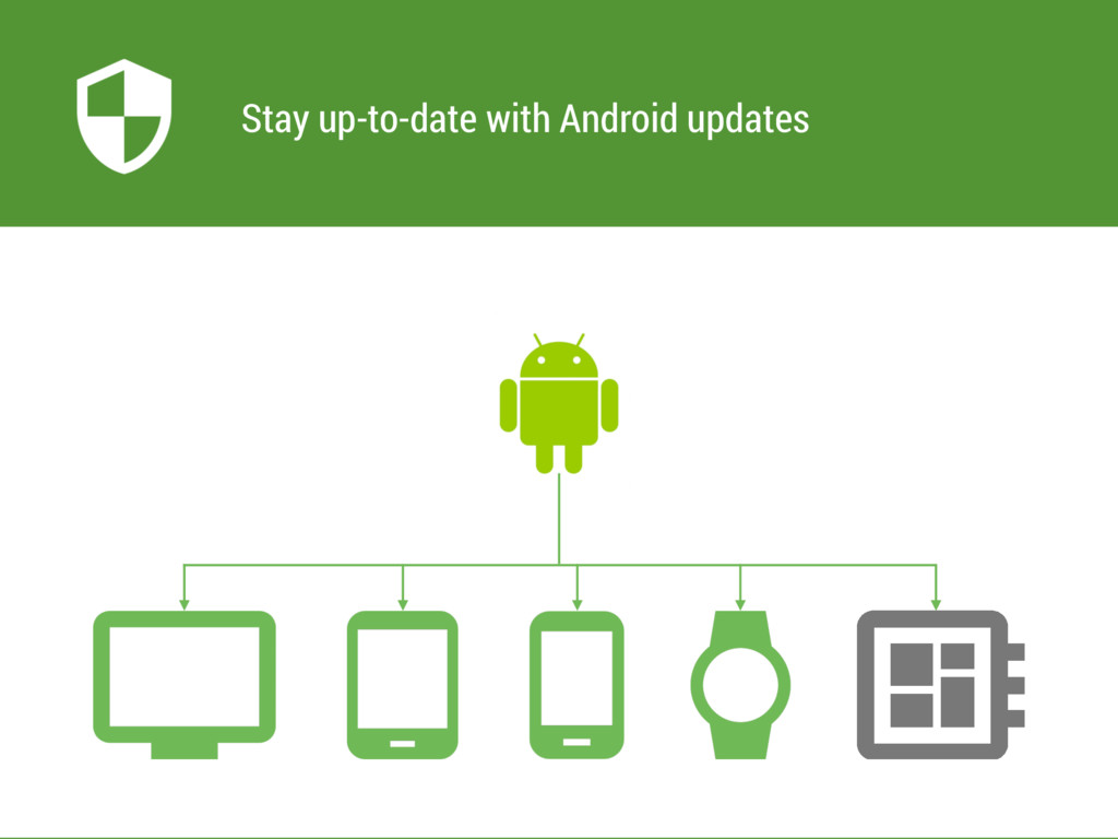 Stay up-to-date with Android updates