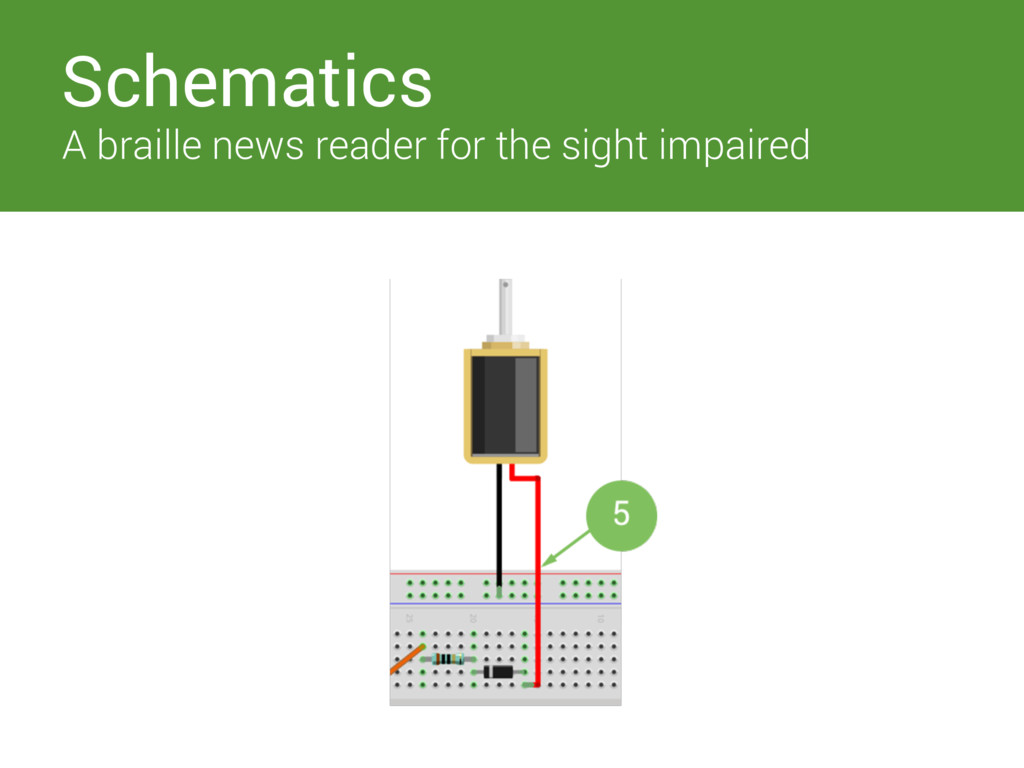 Switches Schematics A braille news reader for t...