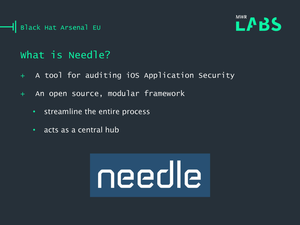 + A tool for auditing iOS Application Security ...