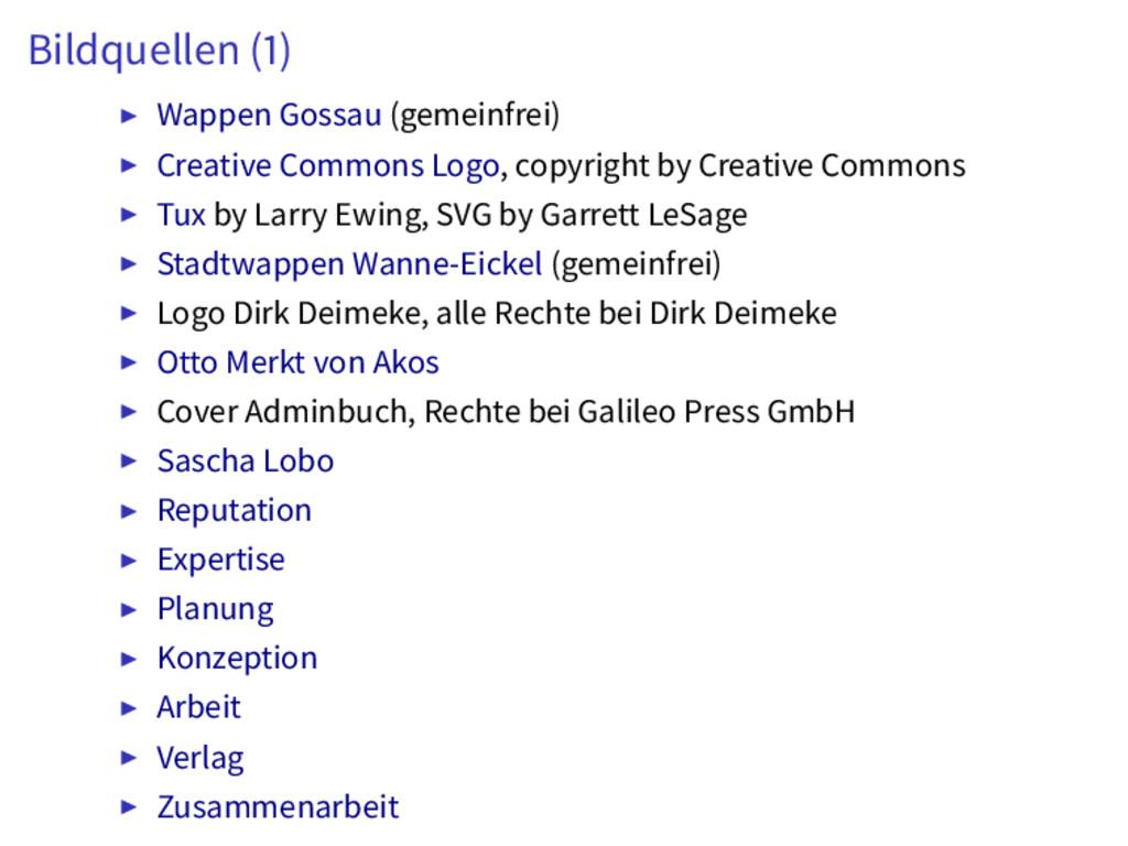 Bildquellen ( ) Wappen Gossau (gemeinfrei) Crea...