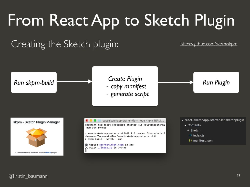@kristin_baumann !17 Creating the Sketch plugin...