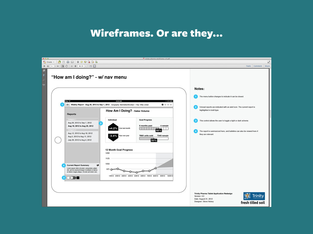 Wireframes. Or are they...