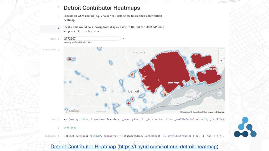 Detroit Contributor Heatmap (https://tinyurl.co...
