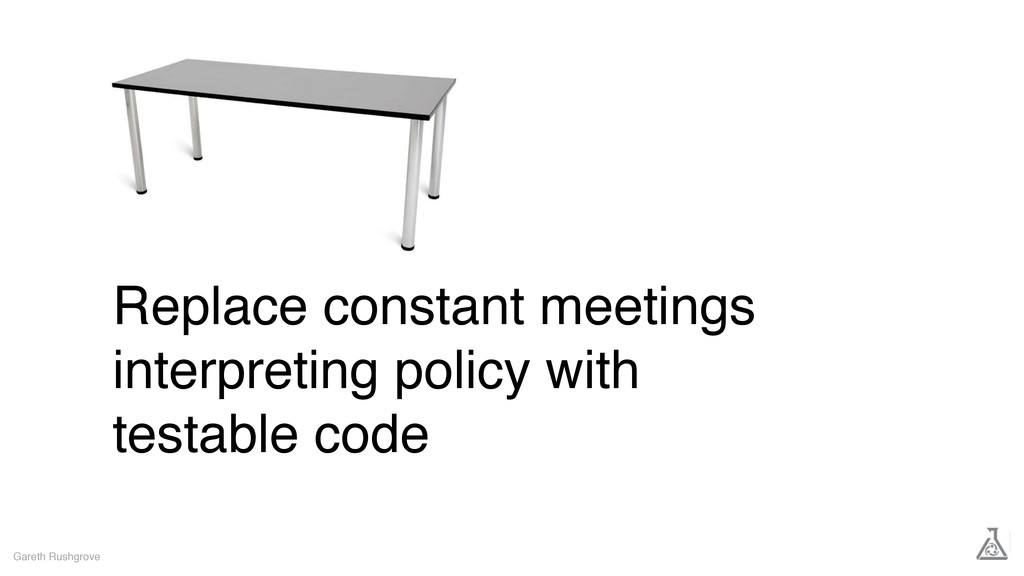 Replace constant meetings interpreting policy w...