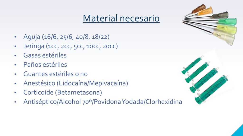 Material necesario • Aguja (16/6, 25/6, 40/8, 1...