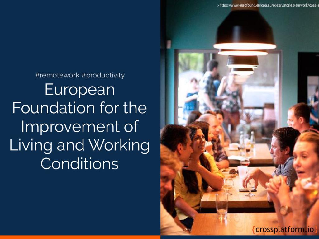 European Foundation for the Improvement of Livi...