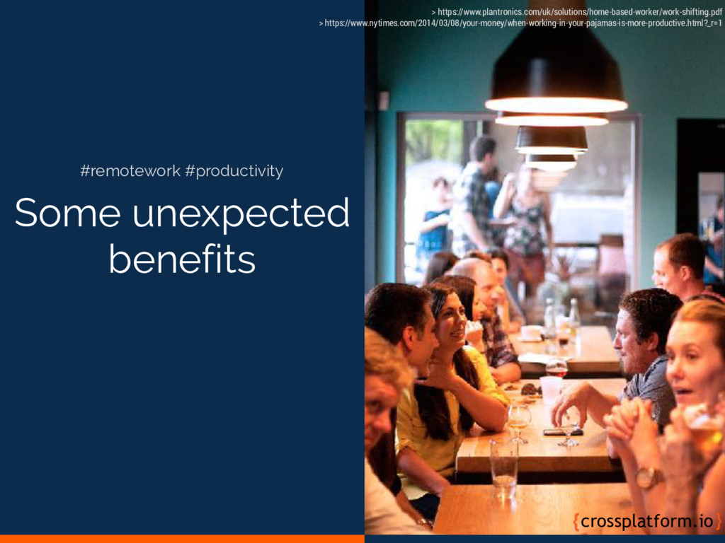 Some unexpected benefits crossplatform.io #remo...