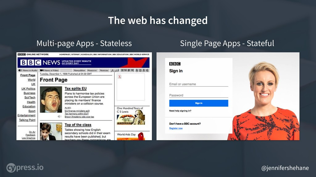 @jennifershehane The web has changed Multi-page...