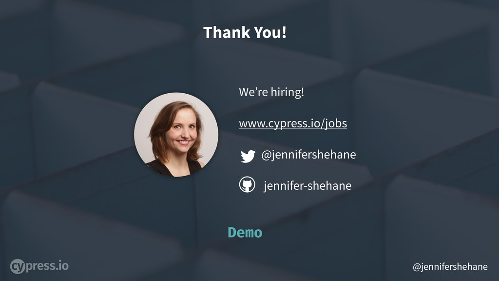 @jennifershehane Thank You! We're hiring! www.c...